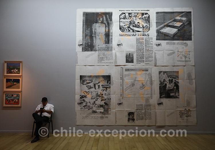 Grandes affiches de propagande sous la dictature, musée de la mémoire