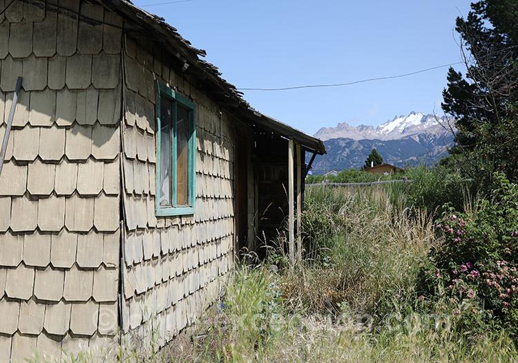 Maison typique de Patagonie australe du Chili, Cerro Castillo