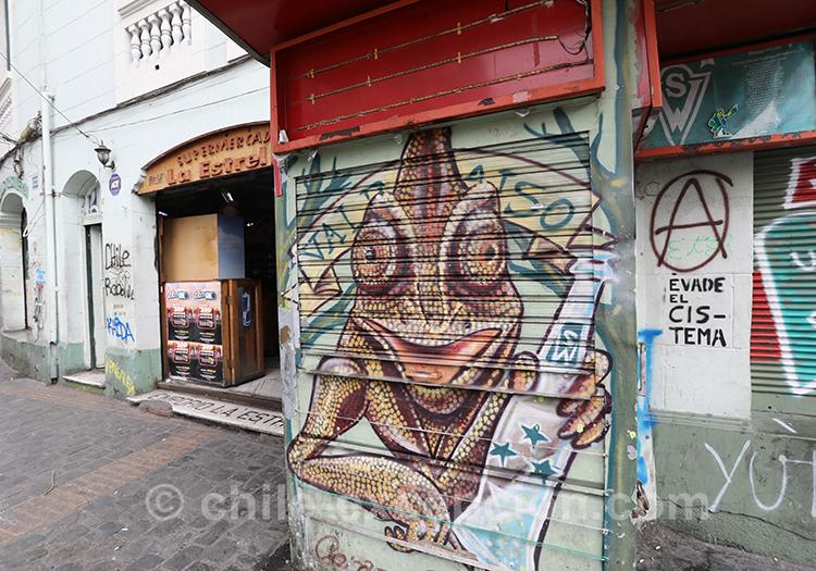 Kiosque peint de Valparaiso
