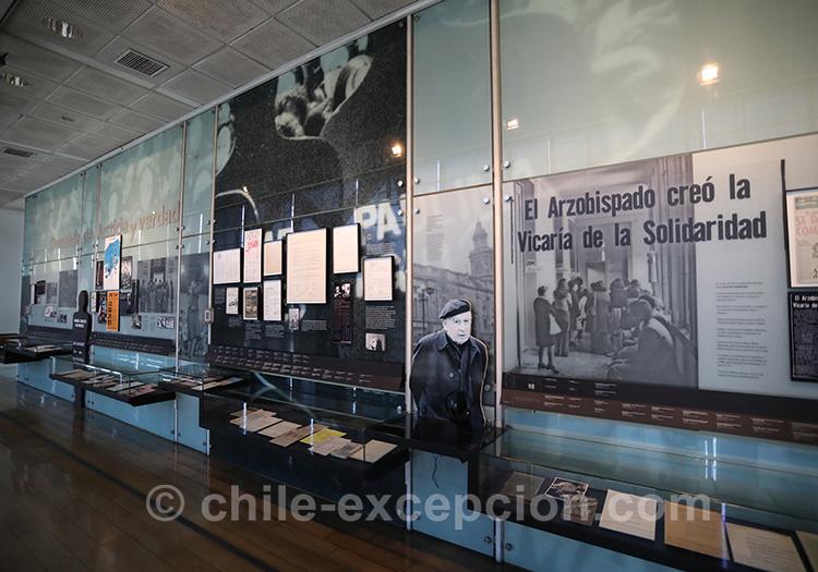 Propagande, musée de la mémoire, Santiago de Chile