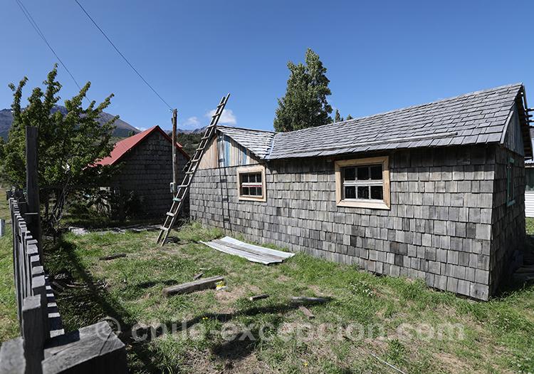 Découvrir les maisons typique de la région de Patagonie australe du Chili, Cerro Castillo