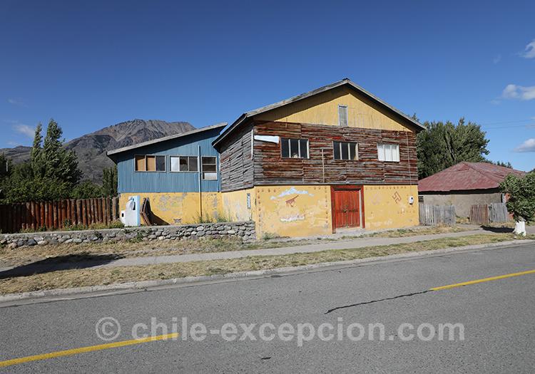 Habitations traditionnelles du Chili en Patagonie australe, Puerto Ibañez