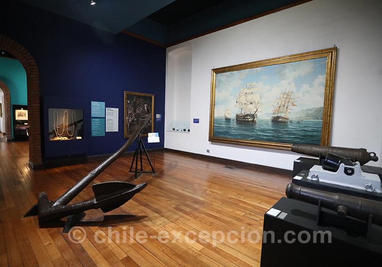 Exposition nautique au musée maritime national, Valparaiso