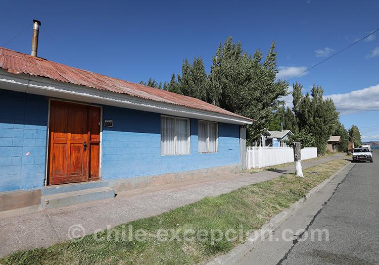 Maisons traditionnelles de la Patagonie australe, Puerto Ibañez