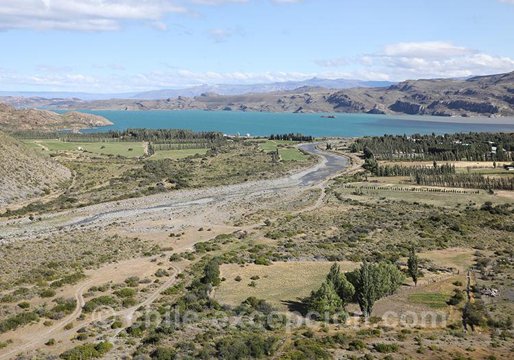 Paysages de la région d'Aysen, Chili