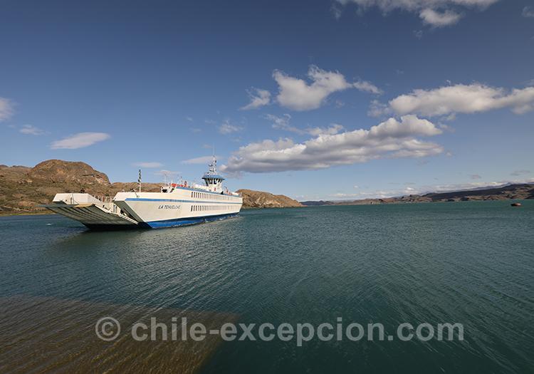 Aller à Chile Chico depuis Puerto Ibañez en ferry