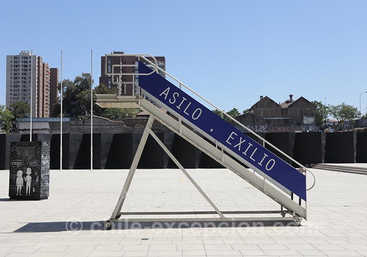 Bienvenue au musée de la mémoire de Santiago de Chile