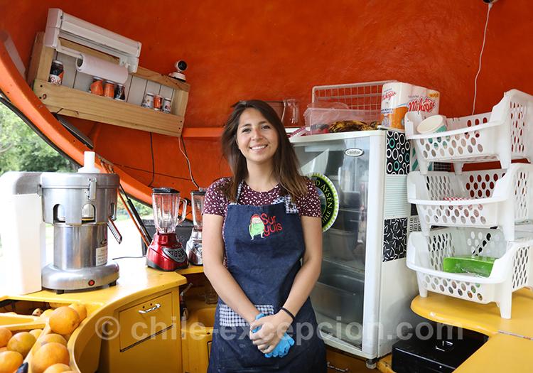 La sympathie des habitants de Coyhaique, Chili avec l'agence de voyage Chile Excepción