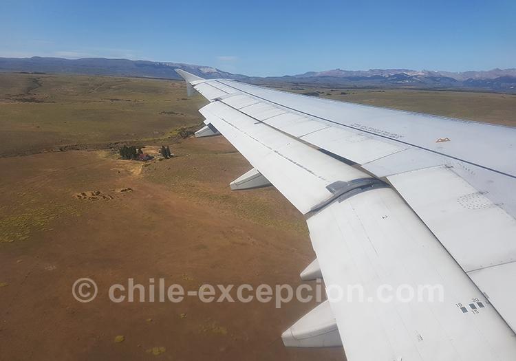 Où se trouve l'aéroport de Coyhaique, Patagonie du Chili