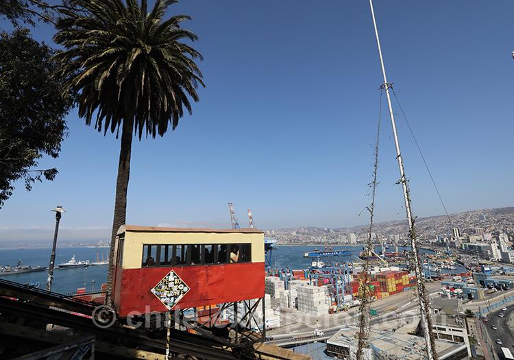 Où prendre l'ascenseur Artillería à Valparaiso, Chili