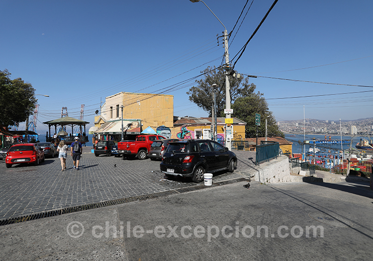 Visiter le Cerro Artilleria de la ville de Valparaiso