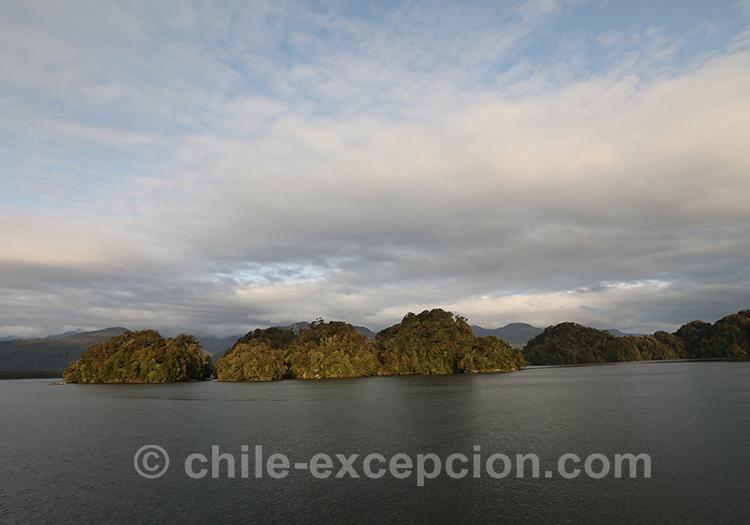 Monument Cinco Hermanas, monument naturel, petit archipel du Chili