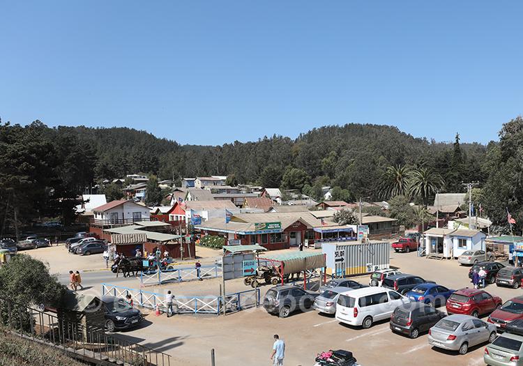 Découvrir la ville de Cahuil dans la région centre du Chili