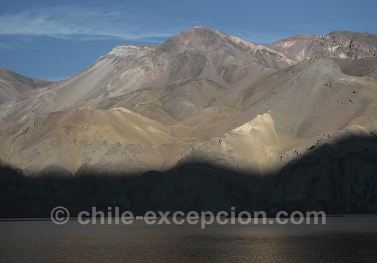 Barrage La Laguna, route 41, Chili
