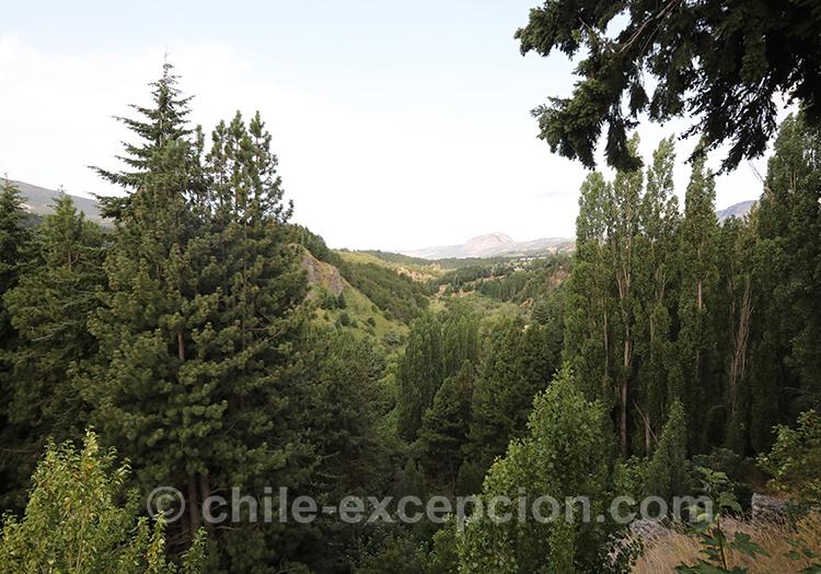 Mirador Río Coyhaique, Chili