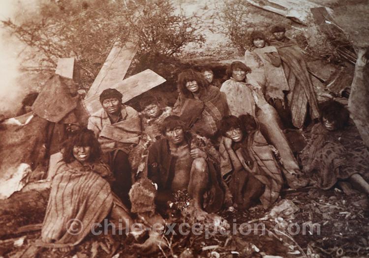 Punta Arenas, Chile 1895, Photographe inconnu