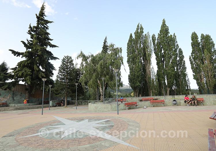 Grande place de Coyhaique, Chili