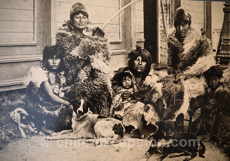 Punta Arenas, Chile 1895, Photographe Sigfrido Braun