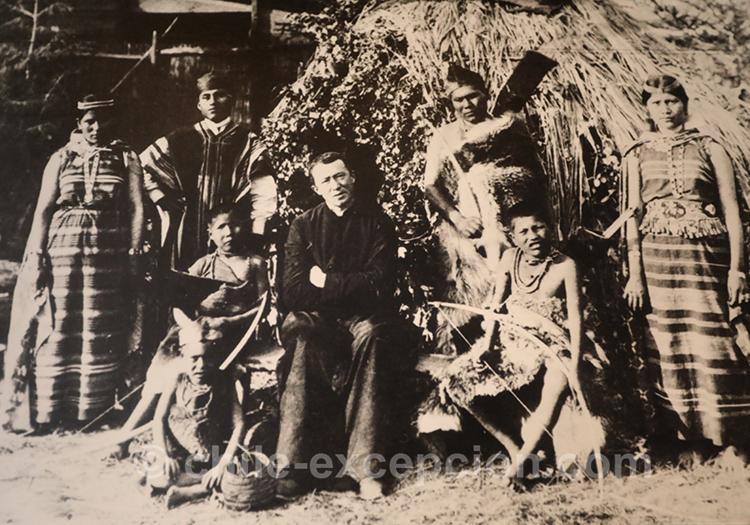 Punta Arenas, selk'nam 1895, Photographe Sigfrido Braun