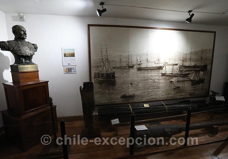 Tableau du musée maritime national, Valparaiso