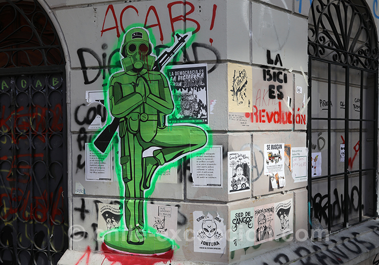 Mur anti armée du Chili
