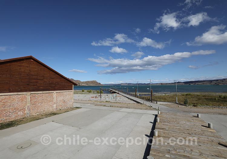 Puerto Ibañez, lac General Carrera, Chili