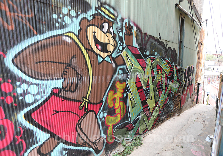 Découvrir la ville de Valparaiso et ses couleurs de rue