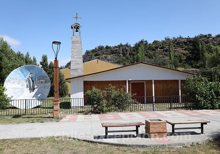 Eglise du village Cerro Castillo, Chili