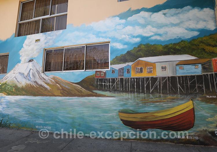 Les maisons sur les pilotis, Yungay, Chili avec l'agence de voyage Chile Excepción