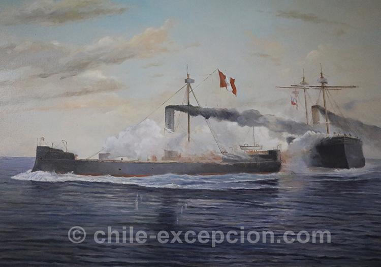 Bataille navale de Angamos 1879