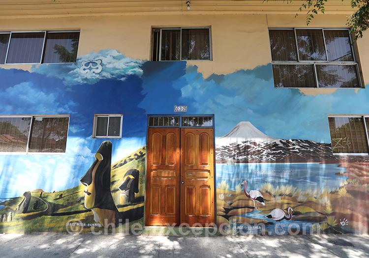 Visiter le quartier Yungay, Chili avec l'agence de voyage Chile Excepción