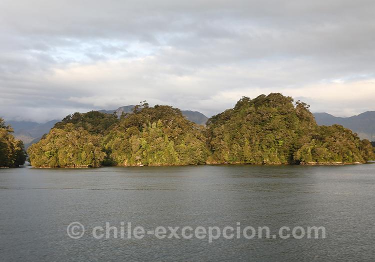 Cinco Hermanas, monument naturel du Chili en Patagonie