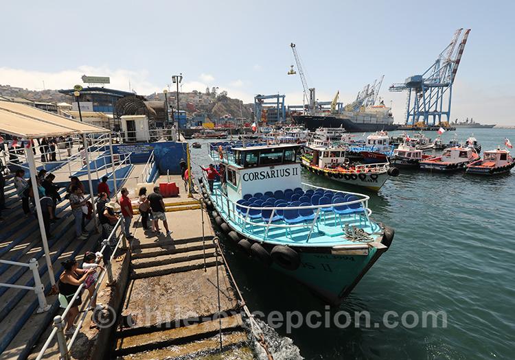 Découvrir la ville portuaire Valparaiso, Chili