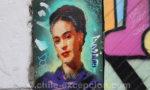 Street art de Valparaiso, Frida Kahlo