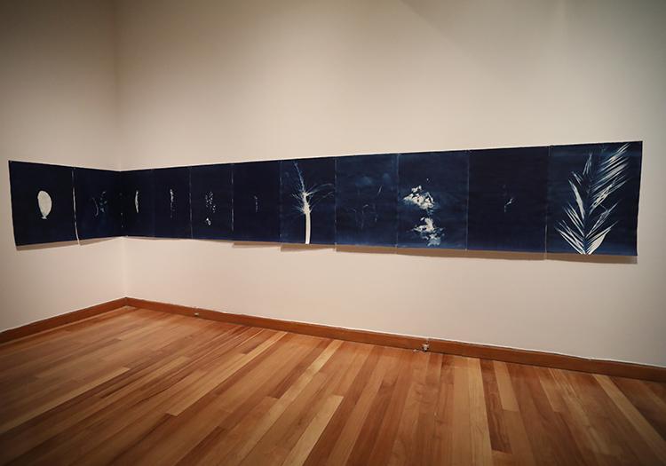 Tableau du musée d'Arts Visuels de Santiago, Chili