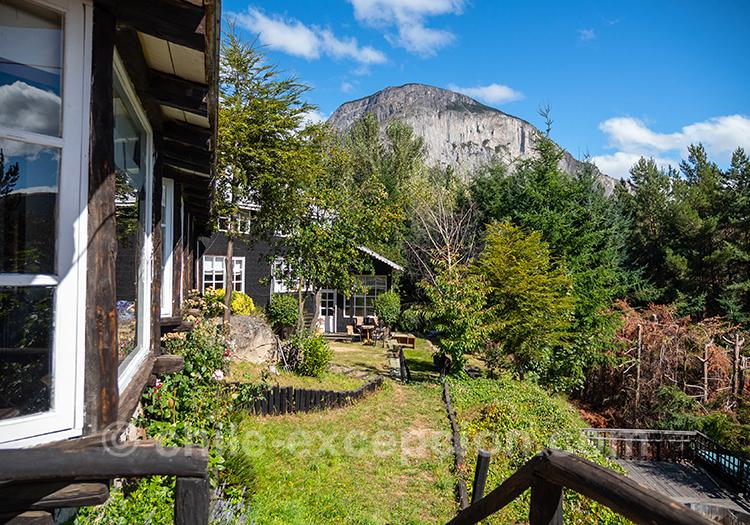 Magnifique hôtel de la région de Coyhaique The Patagonian Lodge