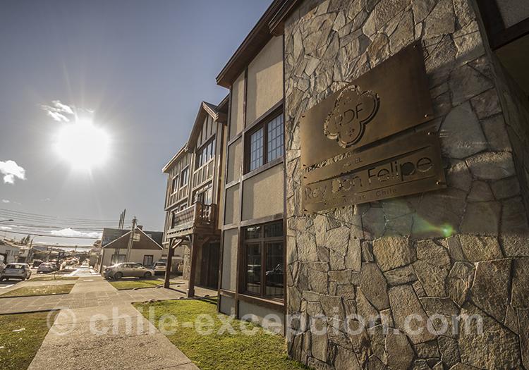 Où dormir à Punta Arenas, Hôtel Rey Don Felipe avec l'agence de voyage Chile Excepción