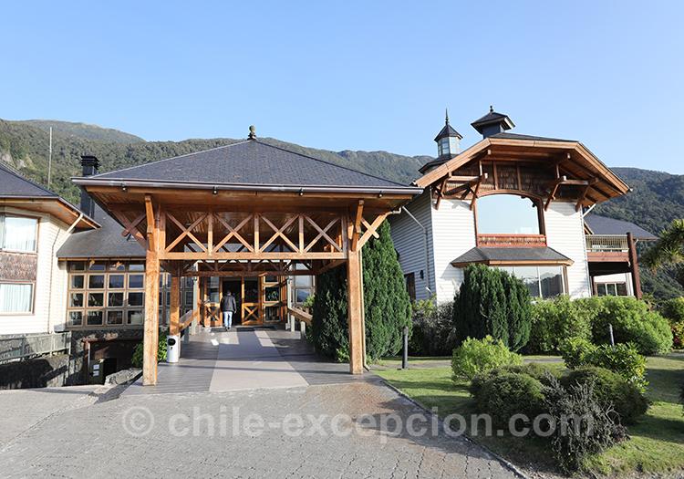 Hôtel Loberías del Sur avec l'agence de voyage Chile Excepción