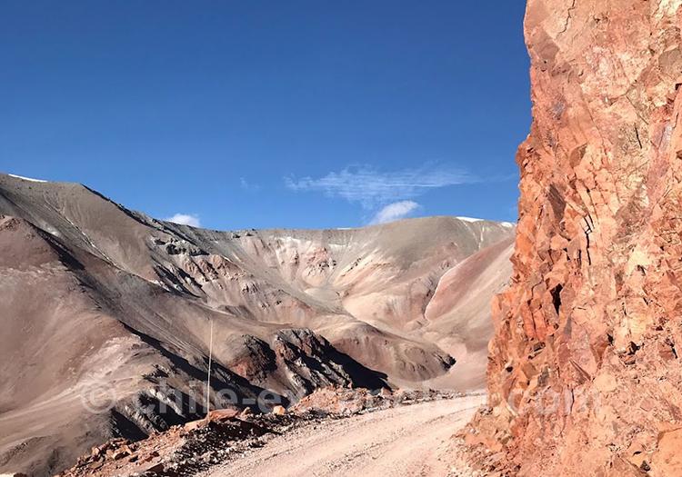 Passage de frontière, Paso Agua Negra, Chili Argentine