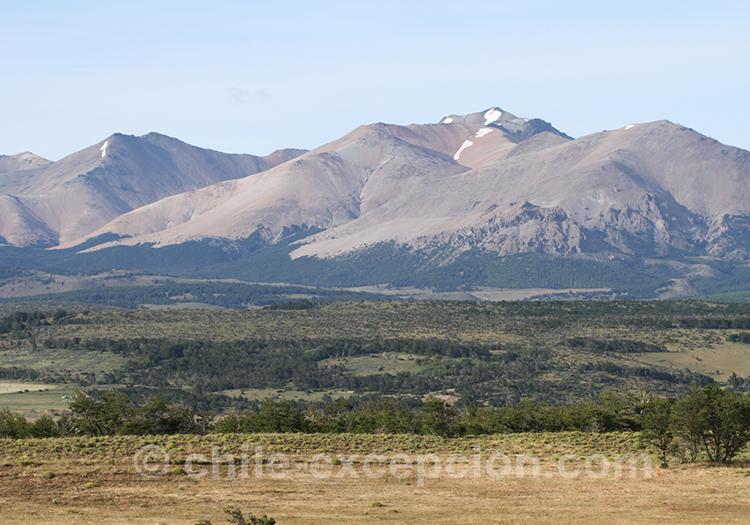 Les Andes dans la région de Coyhaique, Chili