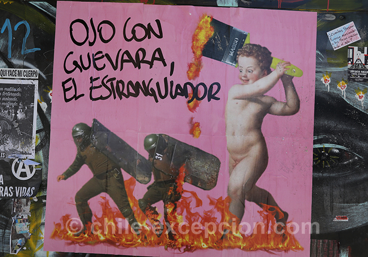 Manifestations au Chili, violence et peuple