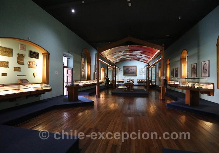Magnifique musée de Valparaiso, musée maritime national