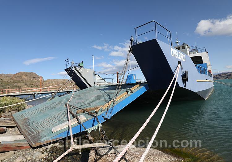 Où aller avec le ferry de Puerto Ibañez sur le lac General Carrera, Chili