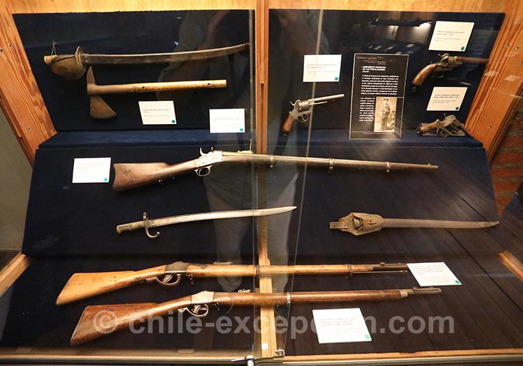 Armes à feu du musée national maritime