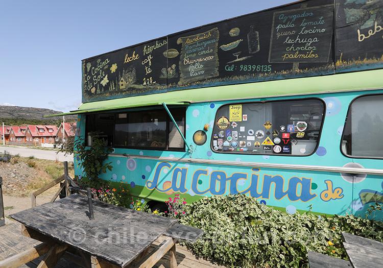 Restaurant à Cerro Castillo, village de la Patagonie australe du Chili à ne pas manquer