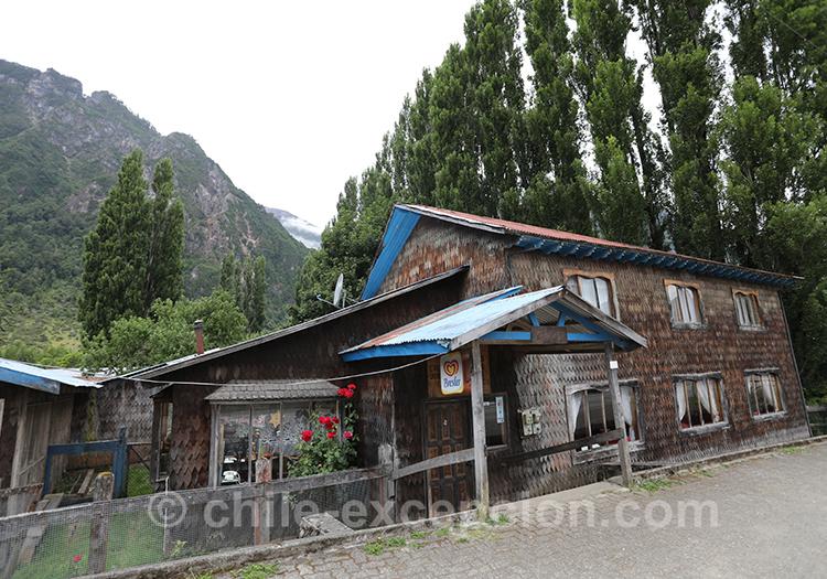 Maison de la région de Coyhaique au Chili