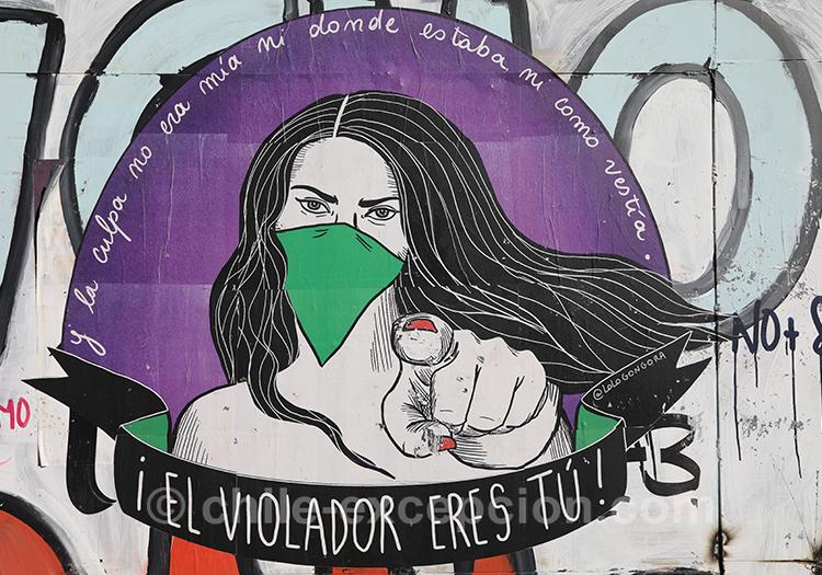 El violador eres tu, chant féministe au Chili