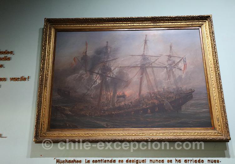 L'Esmeralda coule 1879