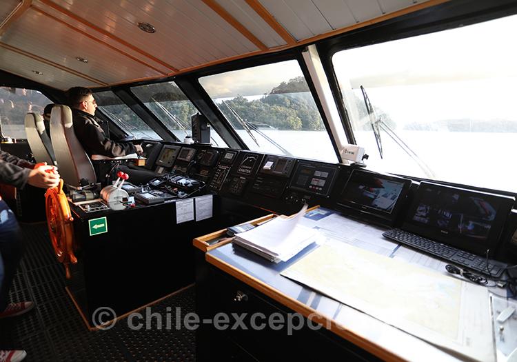 Comment se rendre aux thermes Ensenada Pérez au Chili
