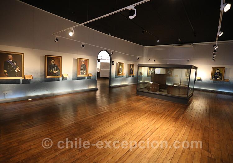 Que voir à Valparaiso, musée maritime national